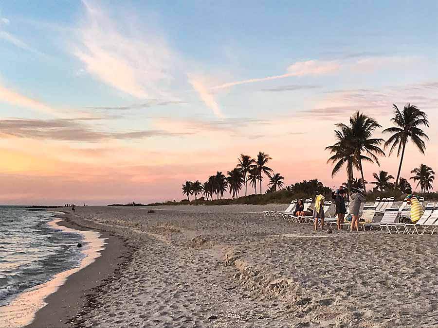 Beach in Captiva, FL