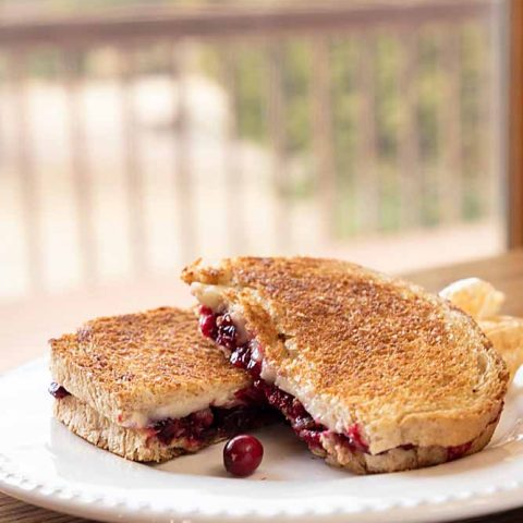 Jammy Brie Grilled Cheese
