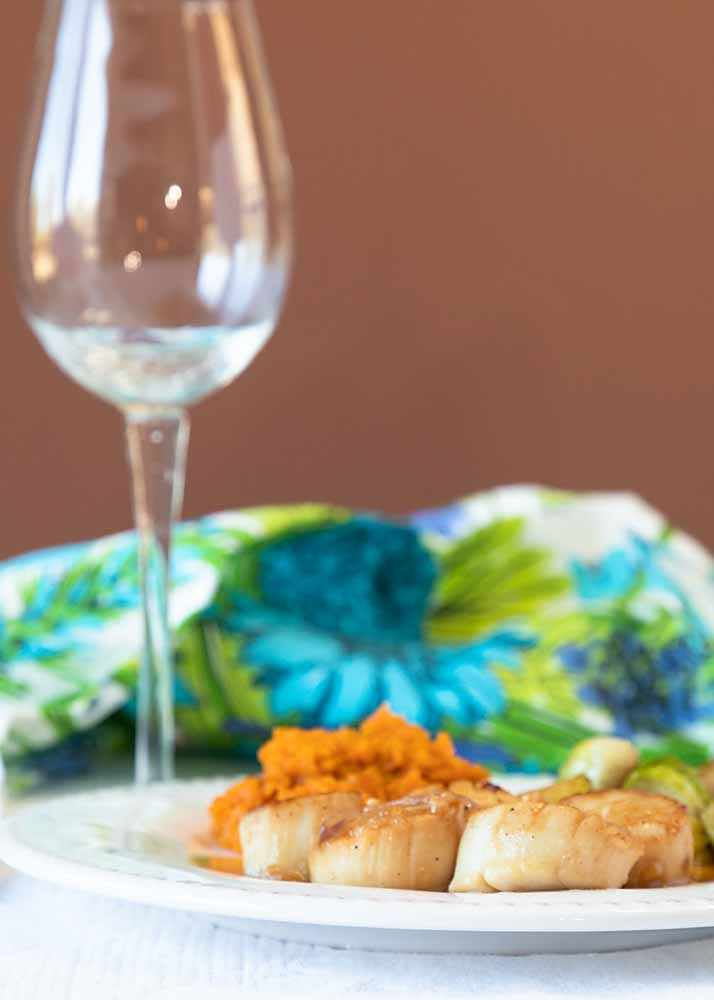 A classic entrée, the brown butter caramelization of Seared Scallops enhances their sweet earthy flavor. Fit for fine dining, easy enough to do at home.