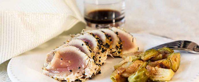 Easy Sesame Crusted Tuna