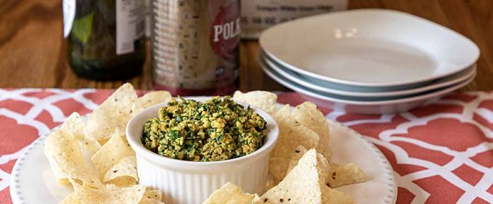 Peanut Garlic Tabbouleh