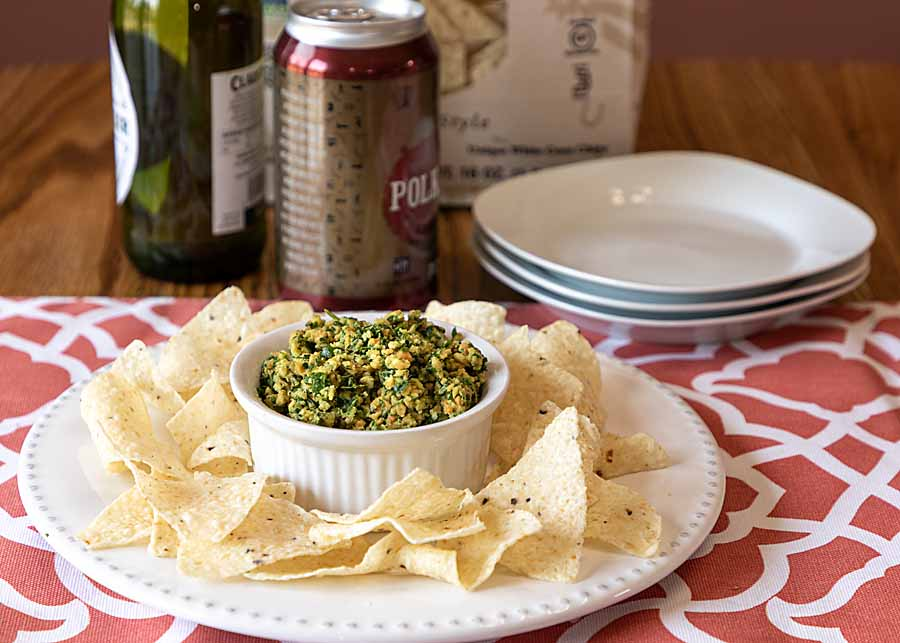 Peanut Garlic Tabbouleh blends some heat from jalapeno & garlic with yummy peanuts & traditional parsley. Serve as an appetizer or a diner side.Gluten-free.