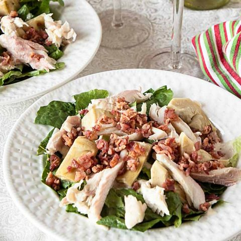 Smoked Fish Caesar Salad