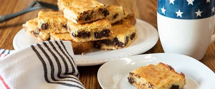 Low-Carb Chocolate Chip Bars