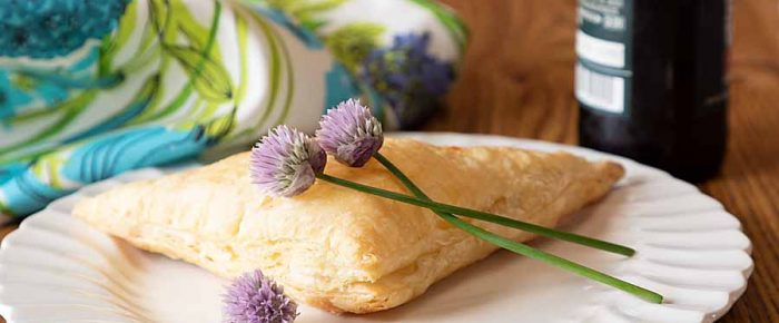 Cheese Burek with Puff Pastry