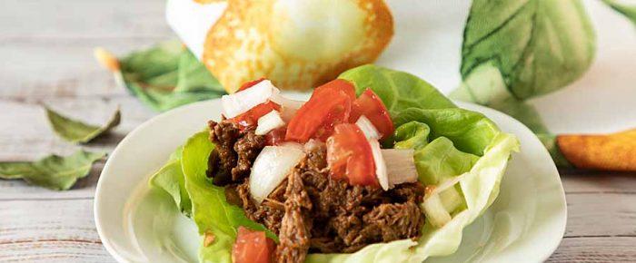 Slow Cooker or Dutch Oven Shredded Beef Barbacoa