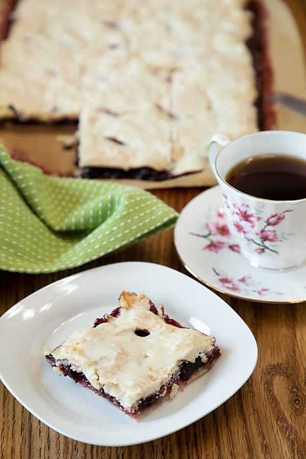 Is it a pie? Is it a cookie? With Glazed Cherry Pie Bars, you have the best of both, for a surprisingly easy, tasty dessert or snack!