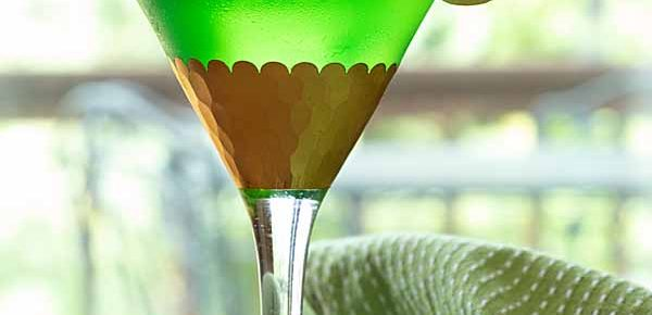 Green Appletini Martini
