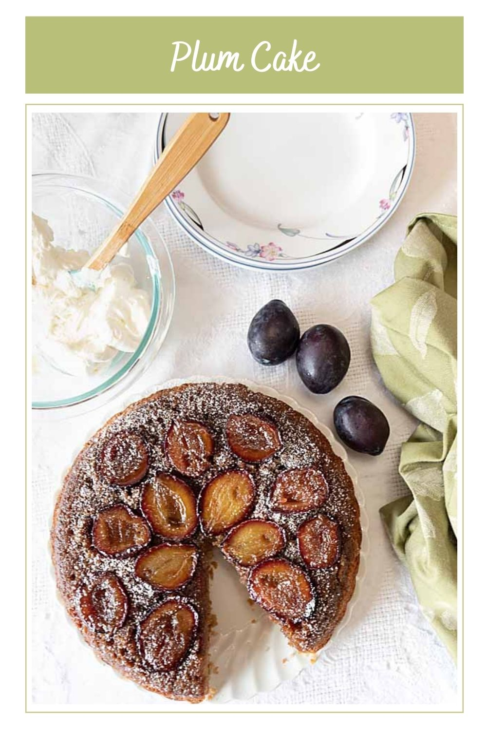 Caramelized and slightly crusty, this plum upside-down cake celebrates fall perfectly—for breakfast or dessert.