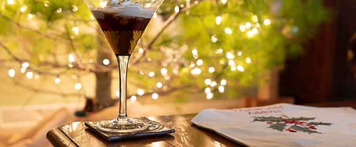 Chocolate Nut Martini (Nutty Uncle)