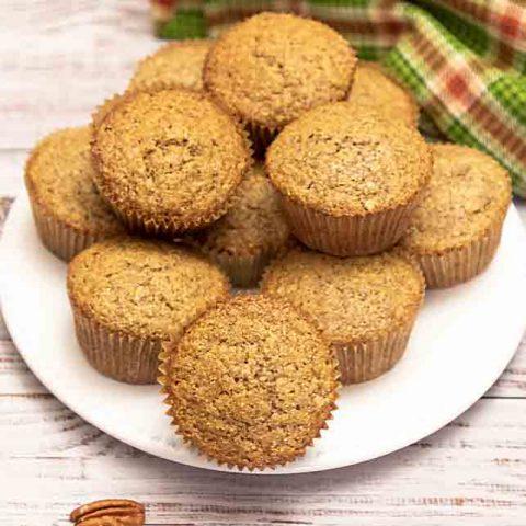 Pecan Cornmeal Muffin