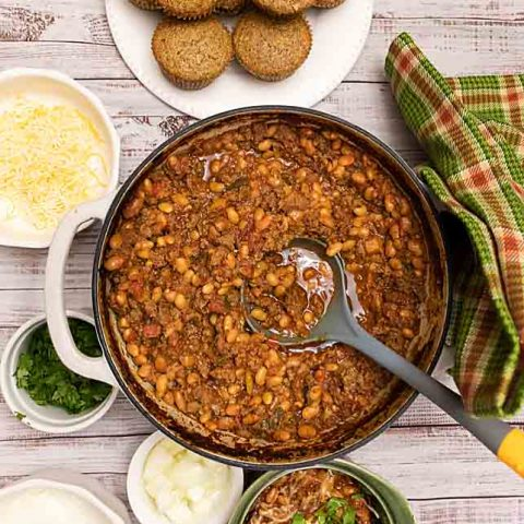 Slow Cooker Chili (or Dutch Oven Chili)