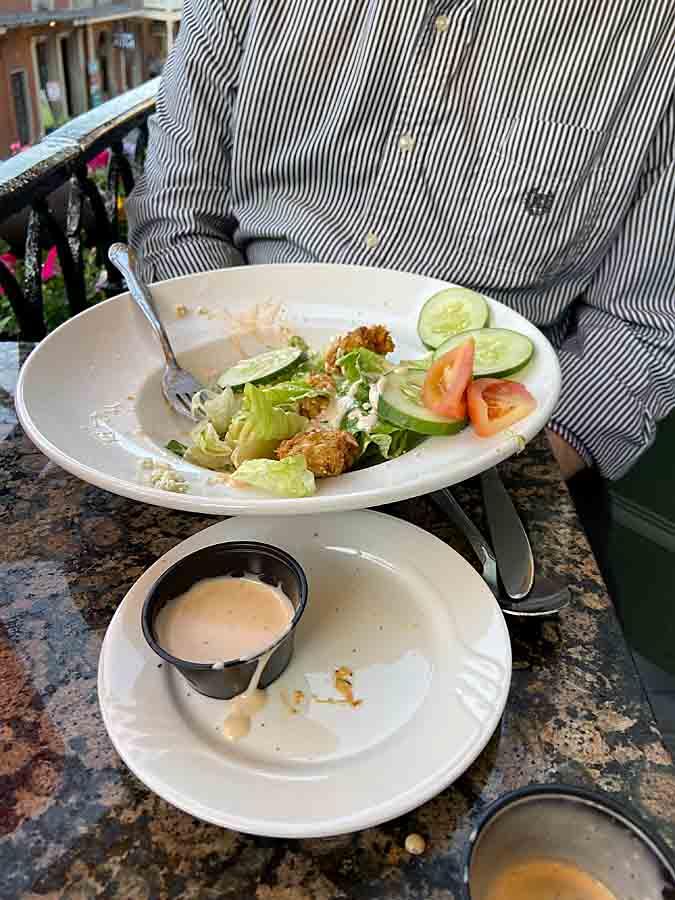 New Orleans, LA salad