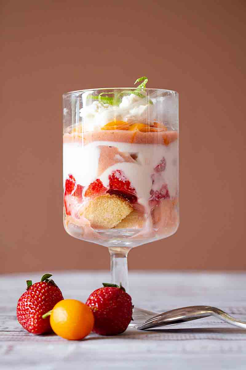 With layers of fruit, yogurt, fruit curd & cake, Breakfast Berry Trifle is a perfect breakfast indulgence that isn't so guilty after all.