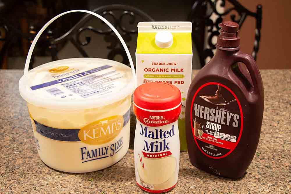 chocolate malt ingredients